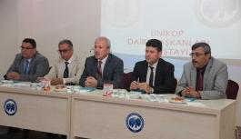 KMÜ'de UNİKOP Daire Başkanları Çalıştayı...