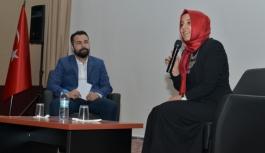 Senarist Ayşe Nur Topal KMÜ'de Öğrencilerle...