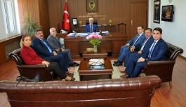 Ahilik Haftası Kutlama Komitesi Vali Murat Koca'yı...