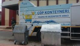 Çöp Konteynerleri Düzenli Olarak Temizleniyor