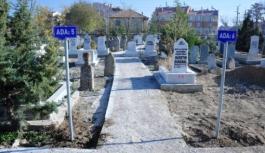 Kazalpa Mezarlığı Duvarı Yenileniyor