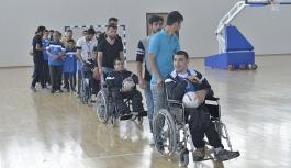 KMÜ'de 2. Karaman Engelliler Spor Şenlikleri Düzenlendi