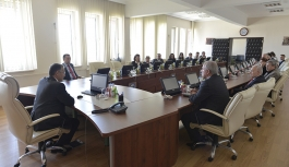 KMÜ'de Daire Başkanları Çalıştayının İkincisi...