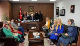 Konya Gençlik Merkezinden Vali Murat Koca'ya Ziyaret