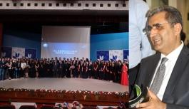 Kristal Lale'de Yönetim Ödülü Recep Konuk'un...