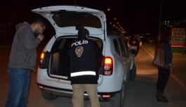 Polisin Asayiş Uygulaması Sürüyor