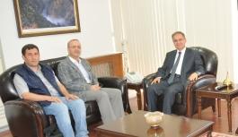 İHA'dan Vali Tapsız'a Ziyaret
