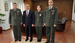 Jandarma Teşkilatından Vali Süleyman Tapsız'a...