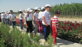 Karaman'da Lider Çocuk Tarım Kampı