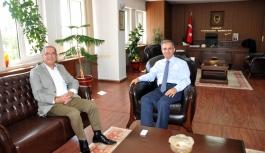Sami Özdağ'dan Vali Tapsız'a Hayırlı Olsun...