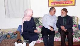 Vali Süleyman Tapsız Ev Ziyaretlerine Başladı