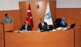 Vali Tapsız İl Koordinasyon Kurulu Toplantısına...