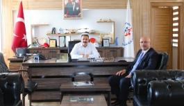 Başkan Samur'dan, Spor İl Müdürü Kısacık'a...