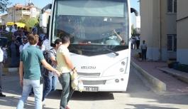 Karaman'da FETÖ operasyonunda gözaltına alınan...