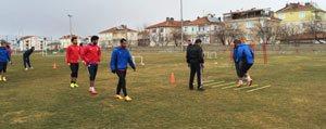 Karaman Belediyespor 2. Yari Hazirliklarini Sürdürüyor