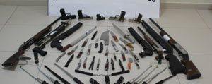 Amaç Disi Biçak Ve Silah Tasiyan 93 Kisiye 20 Bin...
