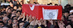 Sehit Yüzbasi Fatih Yasar Son Yolculuguna Ugurlandi