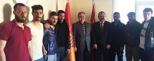 Milletvekili Recep Seker Belediyespor'u Ziyaret...