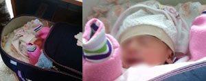 15 Günlük Bebegi Karayoluna Birakip Gittiler