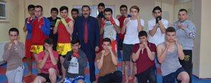 Karaman'da Muay-Thai Sporuna Ilgi Giderek Artiyor