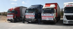 Karaman OSB Müdürlügü`nden Suriyelilere Yardim...