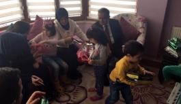 Vali Tapsız Eşiyle Birlikte Sevgi Evlerini Ziyaret...
