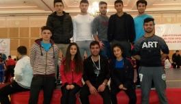 Alihan Taşer Wushu'da Türkiye Üçüncüsü Oldu