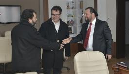 KMÜ Rektörü Akgül'e Tebrik Ziyaretleri Başladı