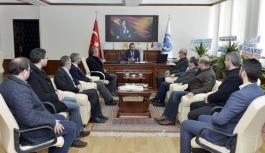Rektör Akgül'e Hoşgeldin Ziyaretleri Sürüyor