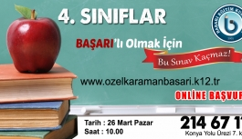 Başarı Koleji Karaman'ın Öğrencilerine Başarı'lı...