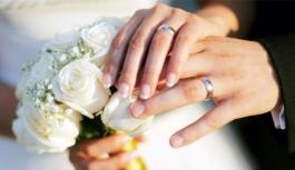 Karaman'da 2016 Yılında Bin 846 Çift Evlendi....
