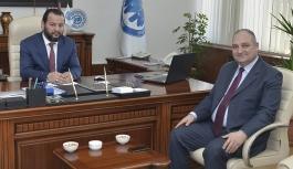 KMÜ Rektörü Akgül'e Tebrik Ziyaretleri Devam...