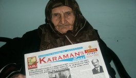 Orta Anadolu'nun İlk Sarı Basın Kartı Sahibi...