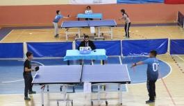 Egemenlik Kupası Masa Tenisi Müsabakaları Tamamlandı