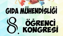 KMÜ, 8. Gıda Mühendisliği Öğrenci Kongresine...
