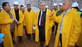 TOKİ Başkanı Turan Ve Başkan Çalışkan Konutları...