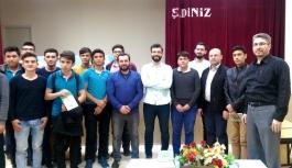 Halil İbrahim Uzun Ve Mustafa Toprak Öğrencilerle
