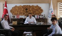 Balkan Üçüncüsü Sporcudan Kısacık'a Ziyaret