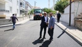 Başkan Çalışkan Osmangazi Mahallesi'ndeki Çalışmaları...