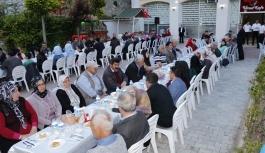 Ermenek'te Şehit Aileleri İftarda Buluştu