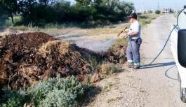 Karaman Belediyesi Haşere İle Mücadeleye Hız Verdi