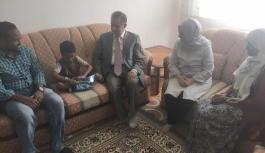 Tapsız Ailesi Ramazan Ayında Ev Ziyaretlerini Sürdürmeye...