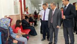 Vali Tapsız'dan Ağız Diş Sağlığı Hastanesine...