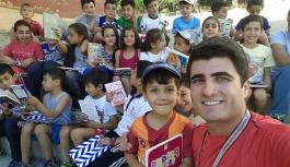 Ermenek'te Süper Çocuklar Geleceğe Okuyarak Koşuyor