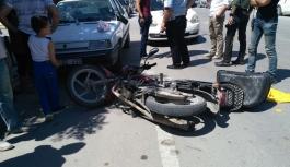 Karaman'da Motosikletler Çarpıştı: 2 Yaralı