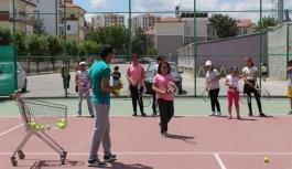Karaman'da Tenise Yoğun İlgi