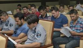 KMÜ'de Güvenlik Personeline Eğitim Verildi