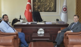 Başsavcı Turan'a Ziyaretler Devam Ediyor