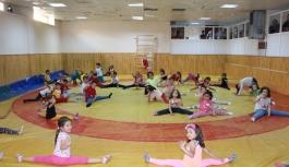 Geleceğin Cimnastikçileri Karaman'da Yetişiyor