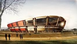 Karaman Şehir Stadyumu Projesi'nde Çalışmalar...